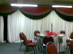 Dining Hall decorated view 4